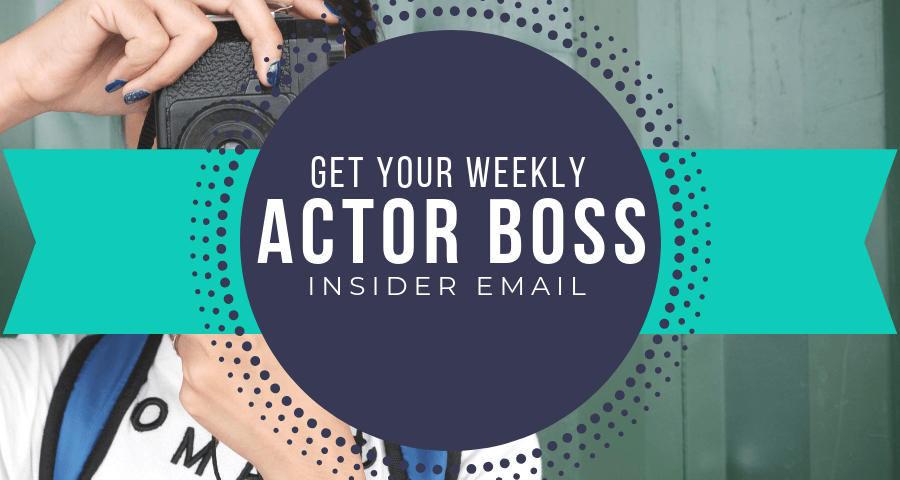 Weekly Tips for Film Actors