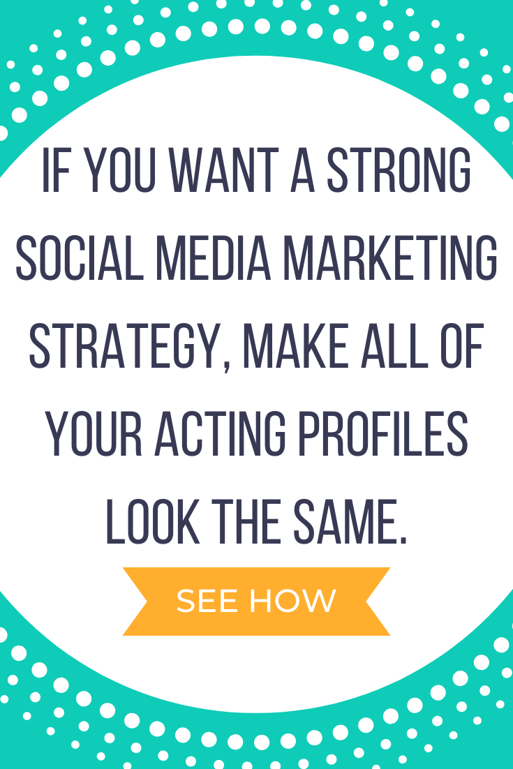 How to Market Yourself on Social Media When You're an Actor
