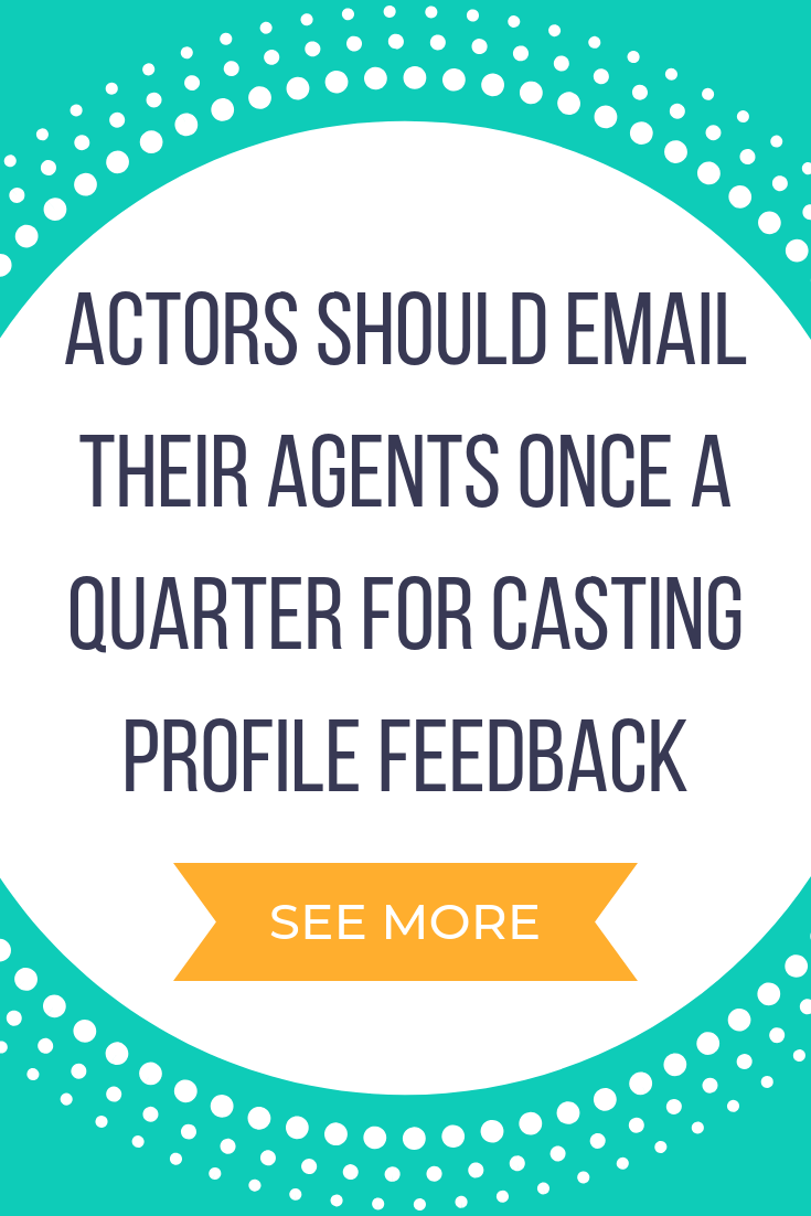 Components of an actor agent relationship