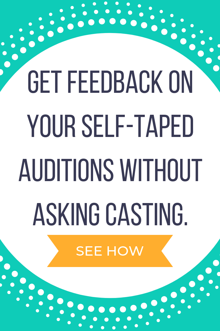 Self-Taped Audition Challenge