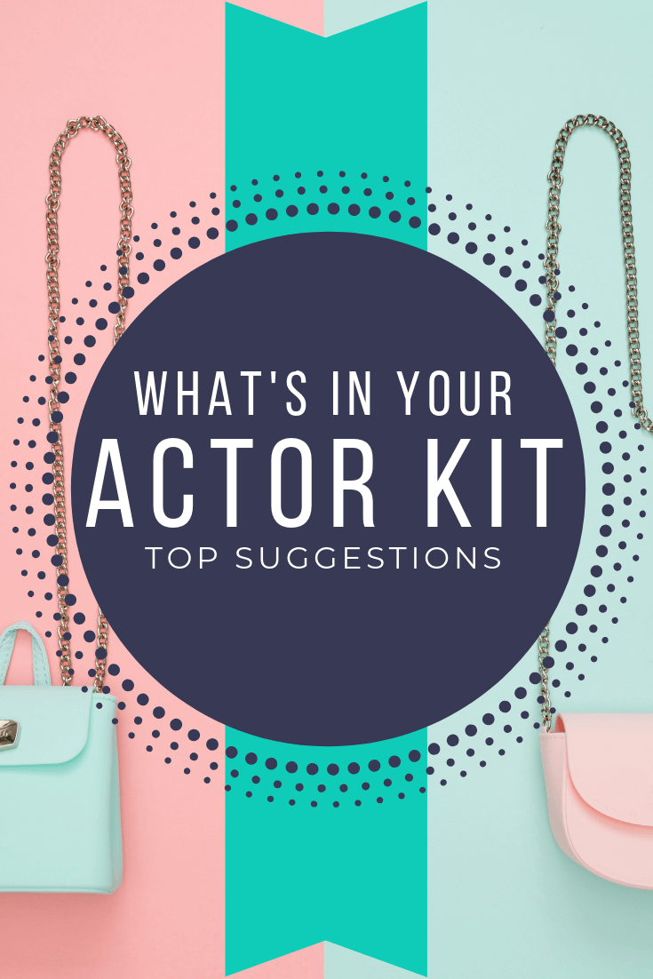 actor audition bag